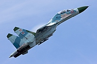 Russia - Air Force – Sukhoi Su-27 UB Flanker C 82