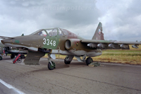 Czech - Air Force – Sukhoi Su-25 UBK Frogfoot 3348