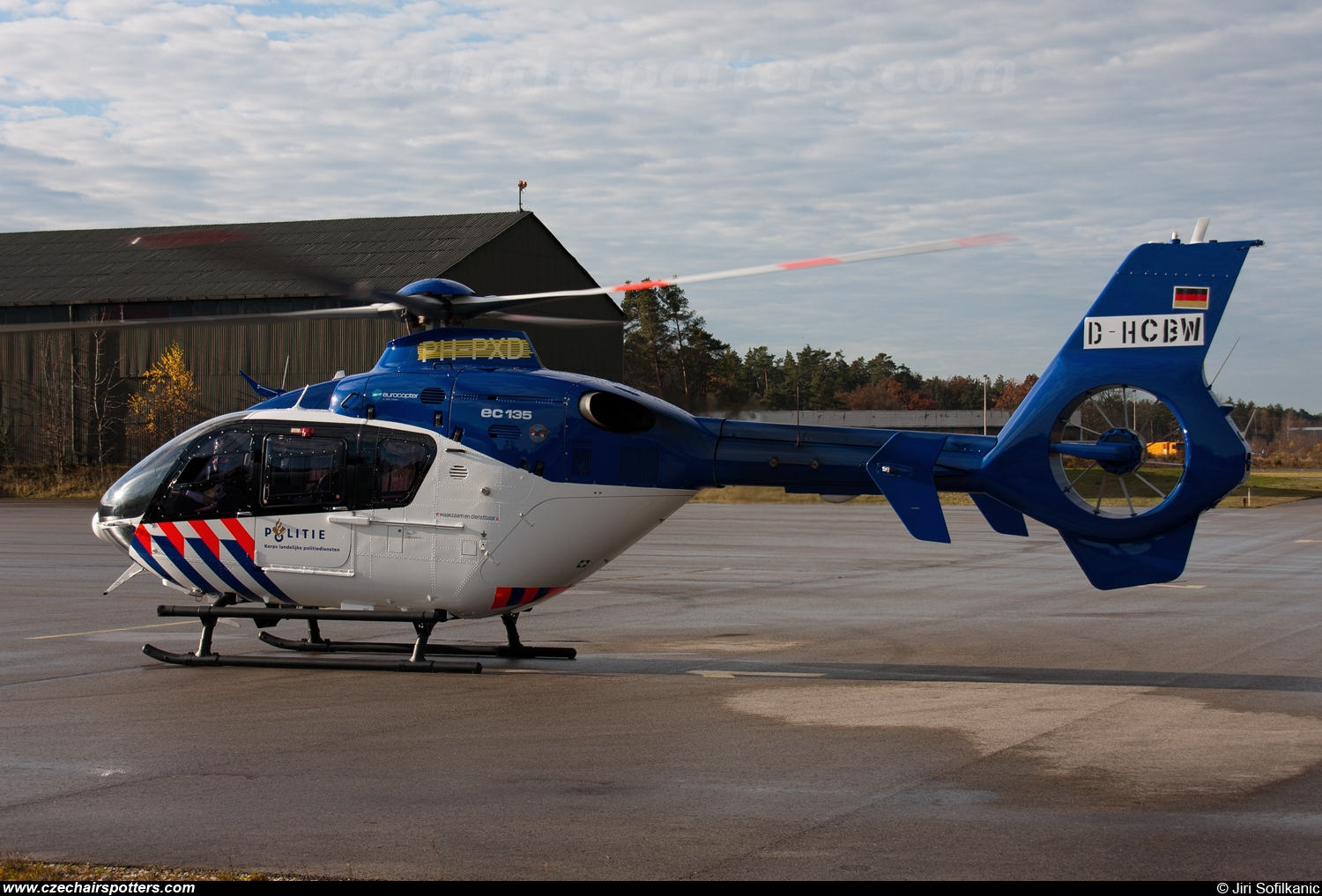 Netherlands - Police – Eurocopter EC 135 P2+ PH-PXD