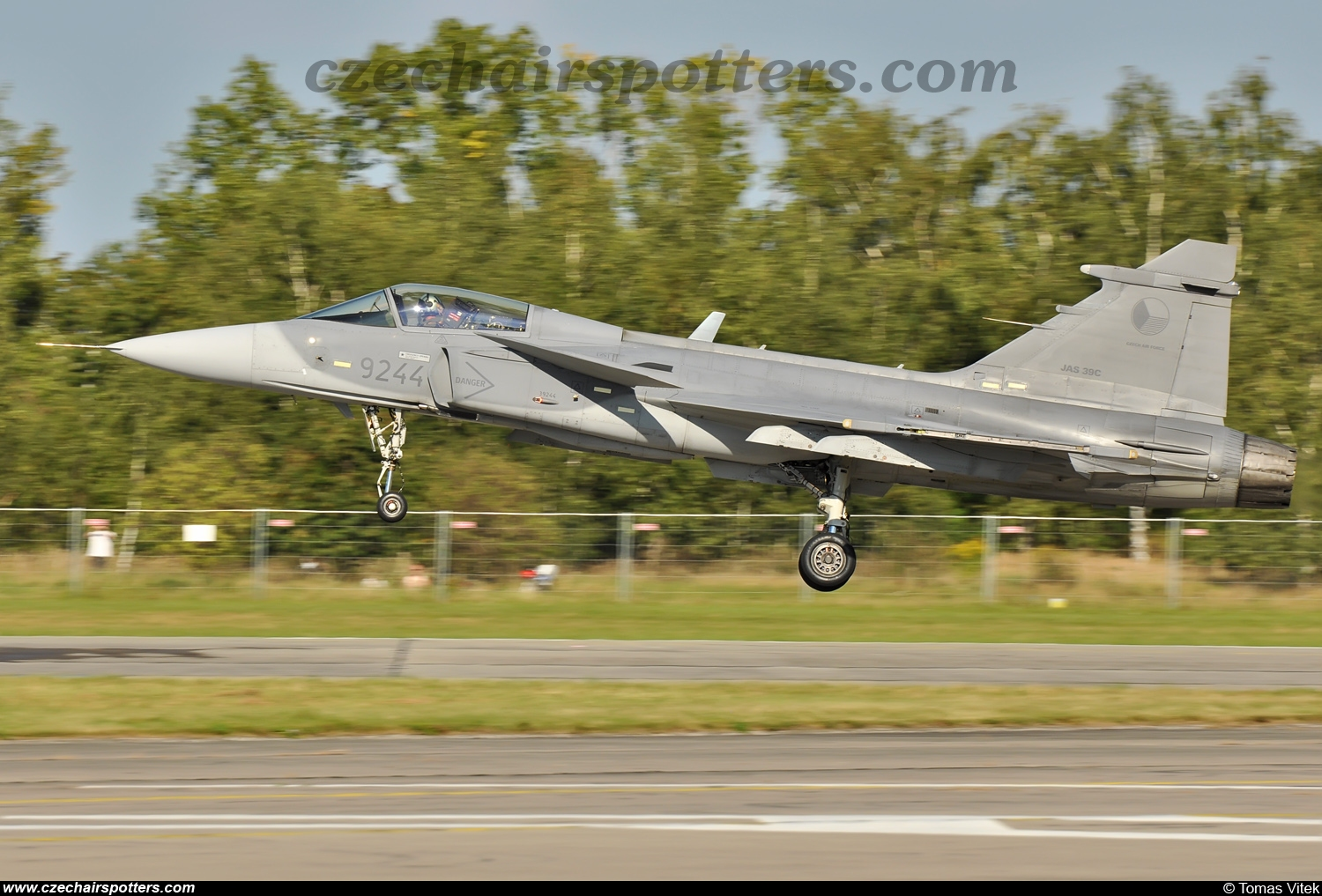 Czech - Air Force – Saab JAS39C Gripen 9244