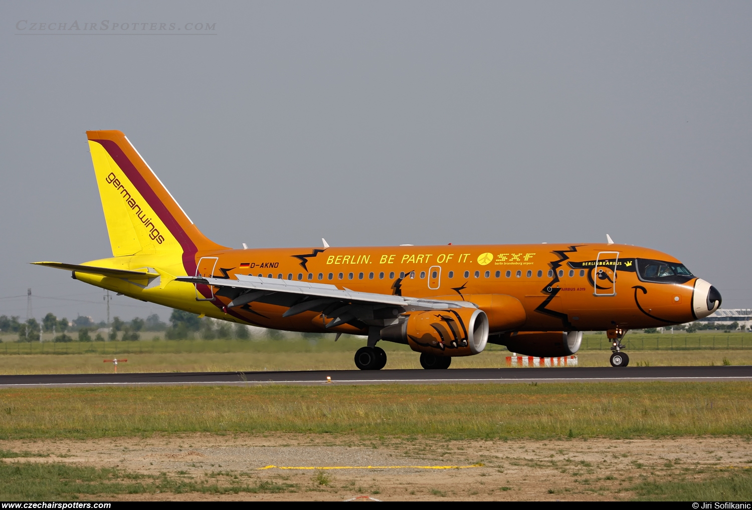 Germanwings – Airbus A319-112 D-AKNO