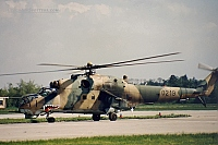 Czech - Air Force – Mil Mi-24D Hind 0219