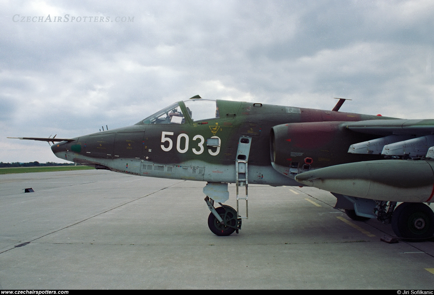 Czech - Air Force – Sukhoi Su-25K Frogfoot 5039