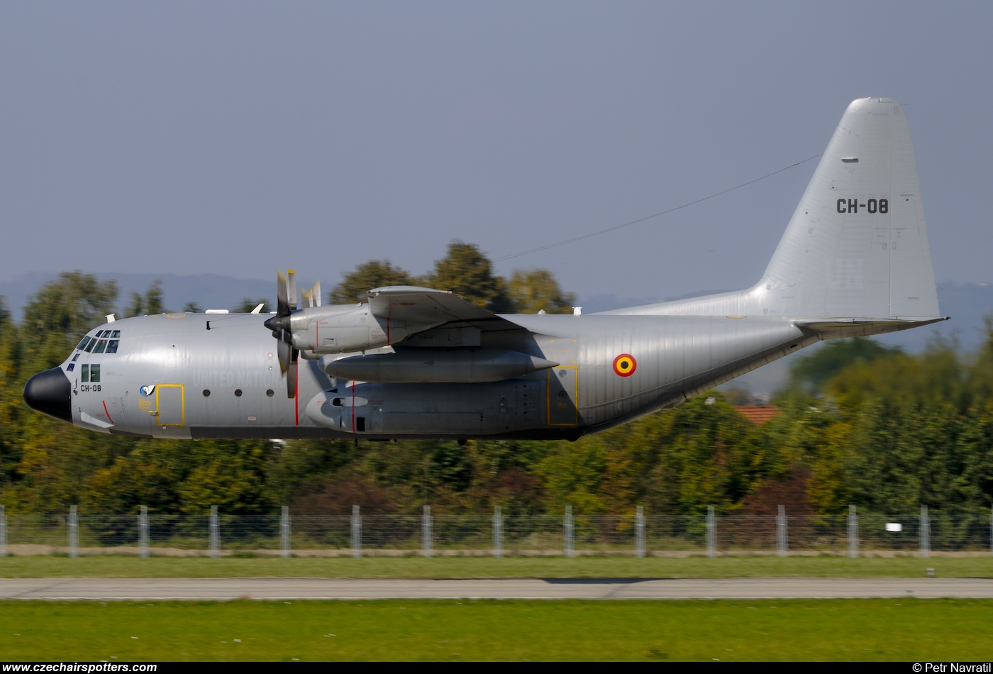 Belgium - Air Force – Lockheed C-130H Hercules CH08
