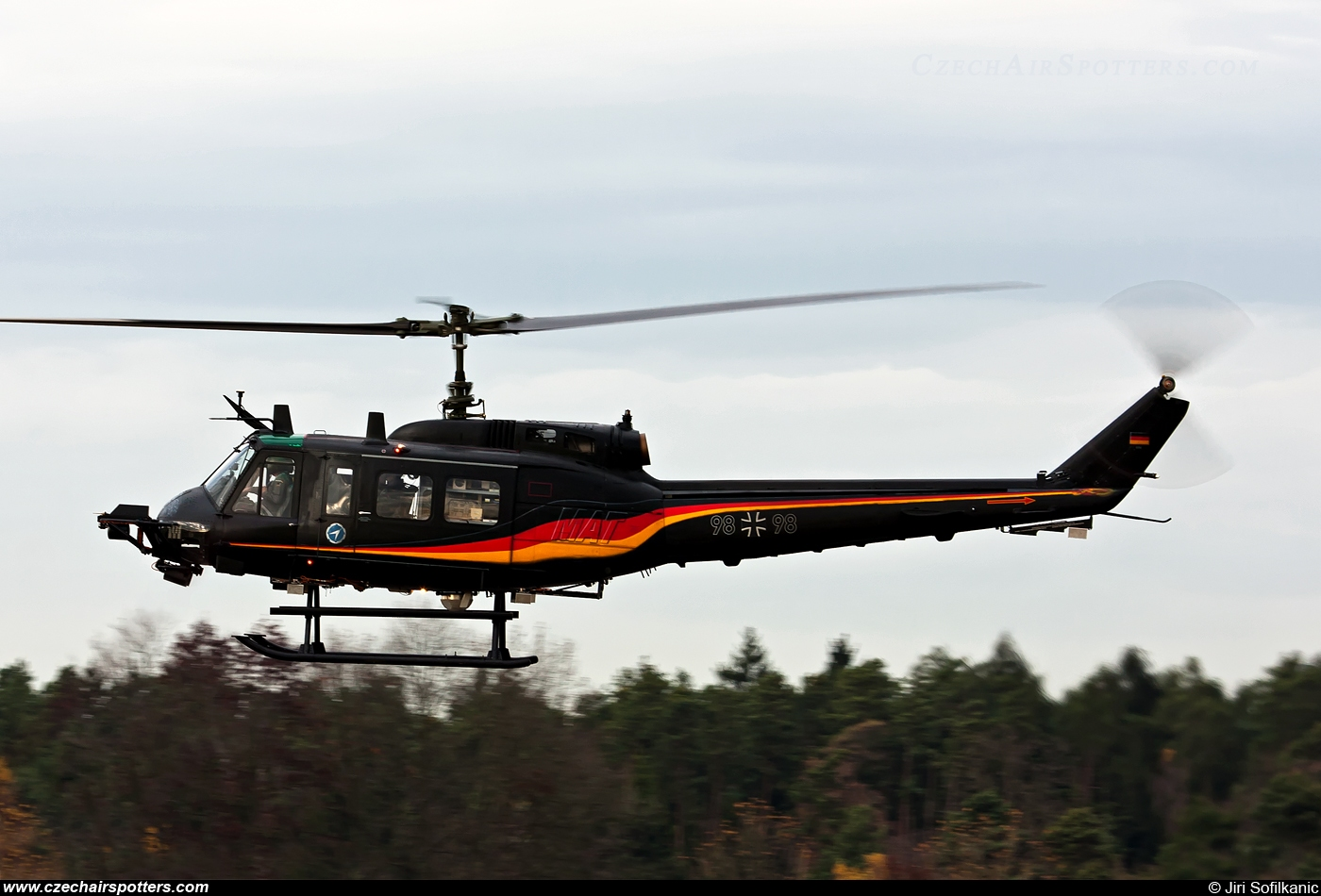 Germany - Air Force – Dornier UH-1D Iroquois (205) 98+98