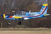 Czech - Air Force – Zlin Z-142CAF 0557