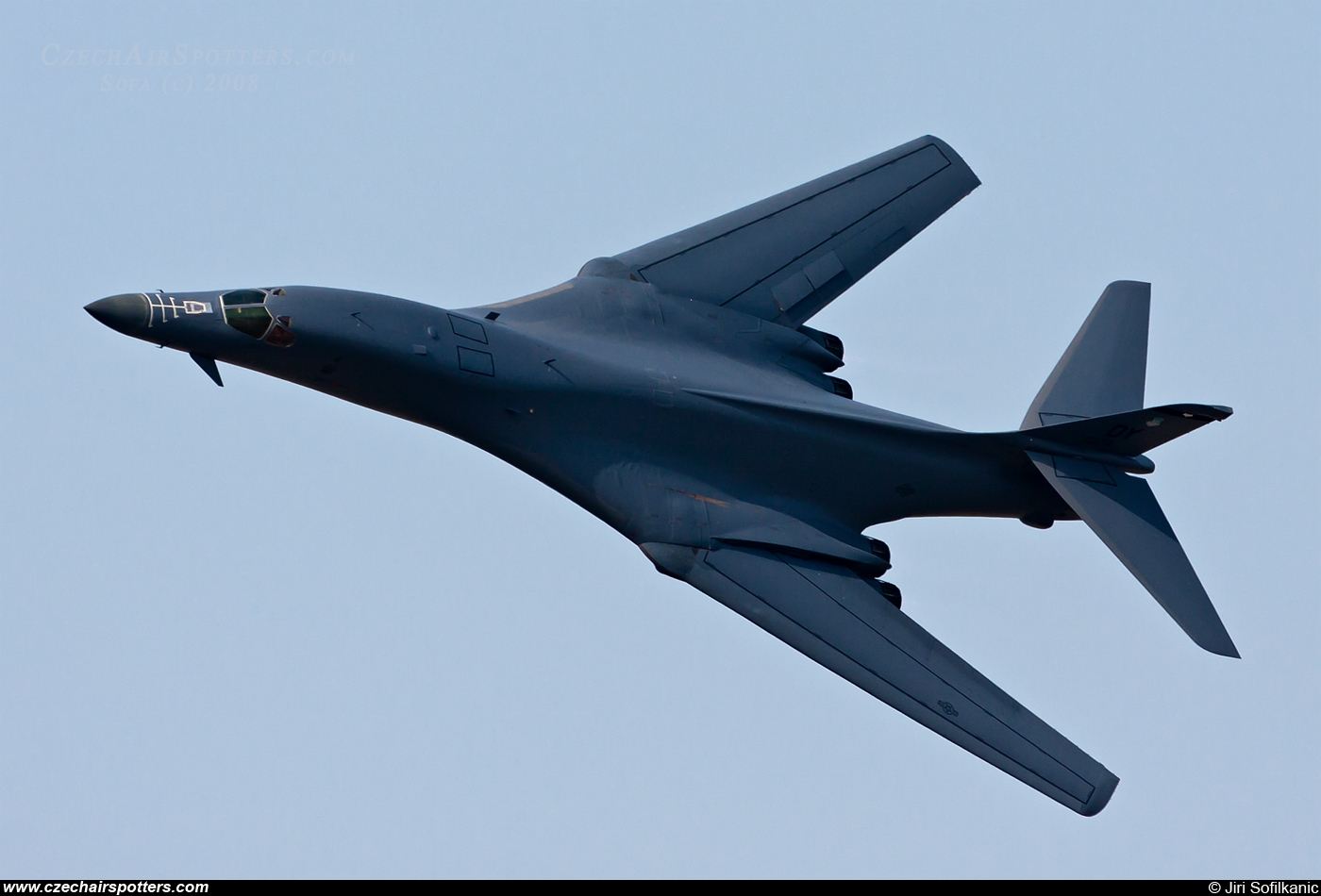 USA - Air Force – Rockwell B-1B Lancer 85-0074 / DY