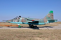 Bulgaria - Air Force – Sukhoi Su-25K Frogfoot 240