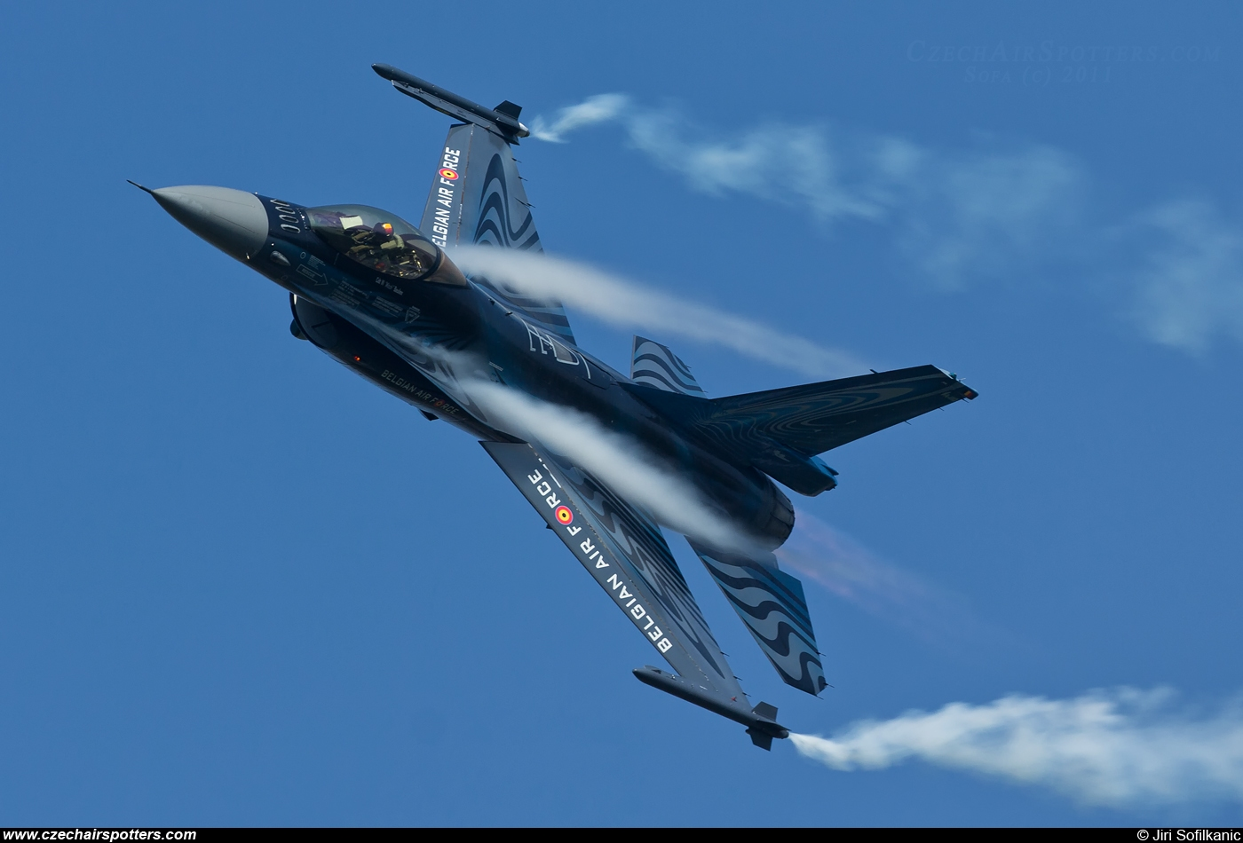 Belgium - Air Force – SABCA F-16AM Fighting Falcon FA-110