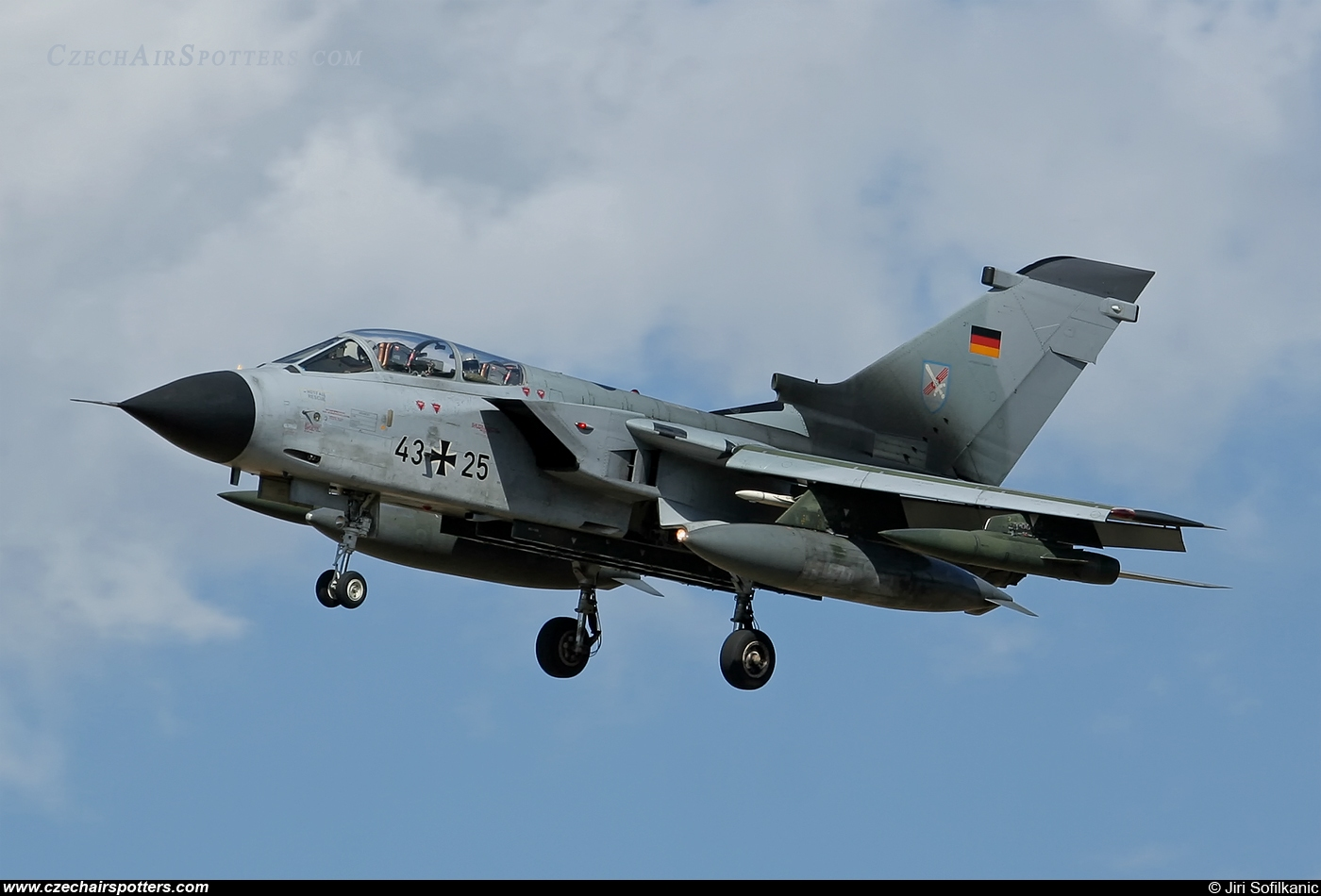 Germany - Air Force – Panavia  Tornado IDS 43+25