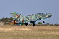 Bulgaria - Air Force – Mikoyan-Gurevich MiG-21bis Fishbed L 243