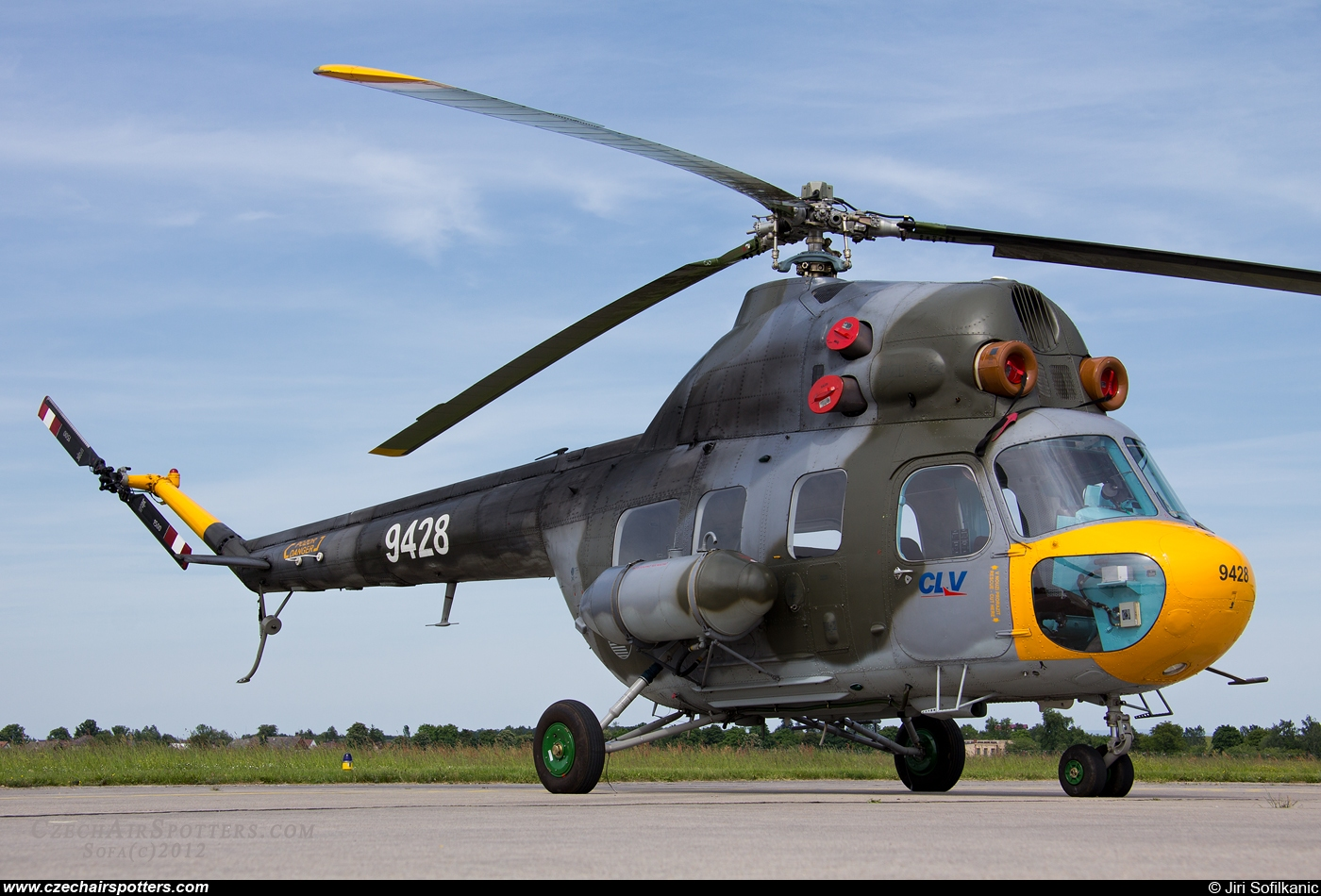 Czech - Air Force – PZL-Swidnik Mi-2 Hoplite 9428