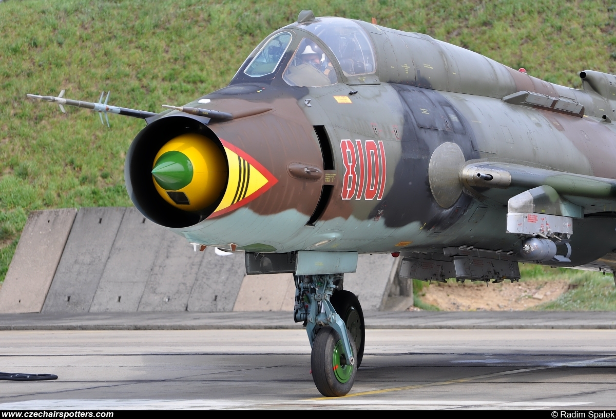 Poland - Air Force – Sukhoi Su-22 M-4 Fitter 8101