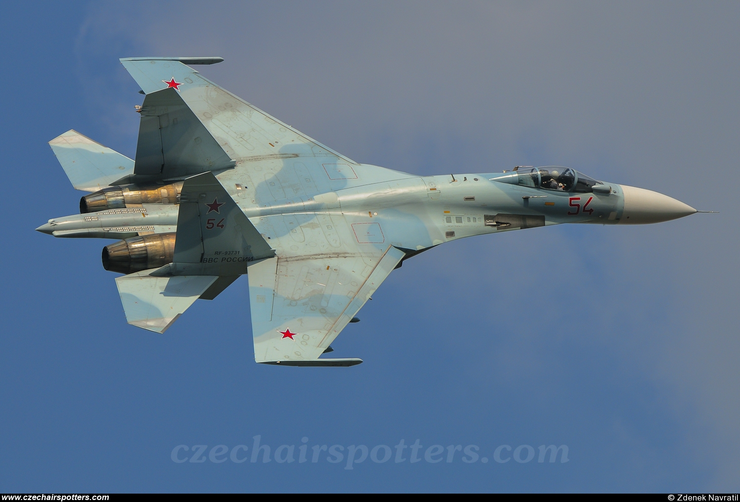 Russia - Air Force – Sukhoi Su-27 Flanker B 54