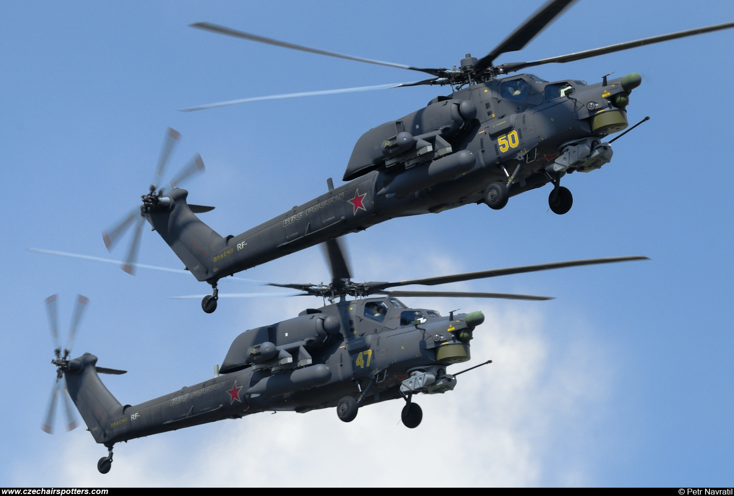 Russia - Air Force – Mil Mi-28N  Havoc 50