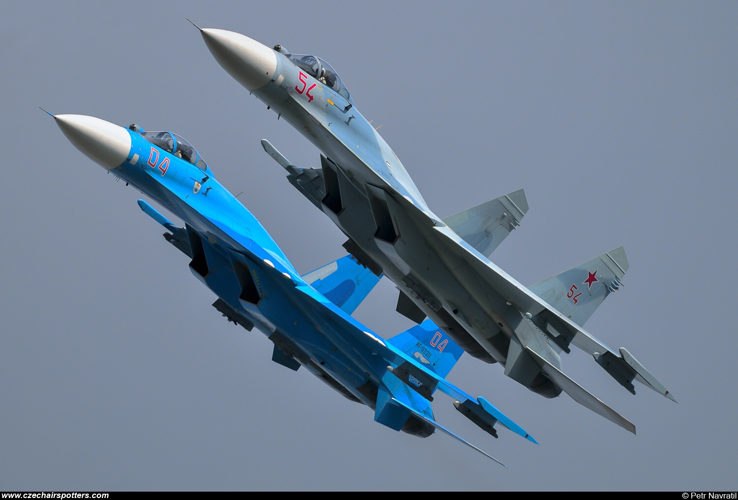 Russia - Air Force – Sukhoi Su-27SM Flanker 04