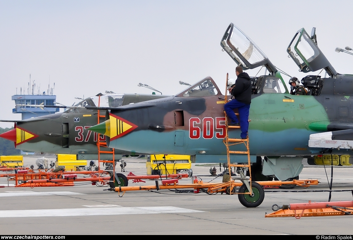 Poland - Air Force – Sukhoi Su-22 UM-3K Fitter G 605