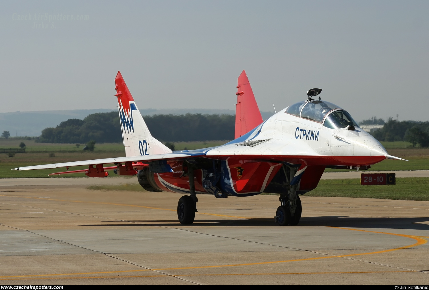 Russia - Air Force – Mikoyan-Gurevich MiG-29UB / 9-51 02 BLUE