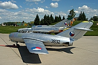 Czechoslovakia - Air Force – Mikoyan-Gurevich MiG-15bis SB 3832