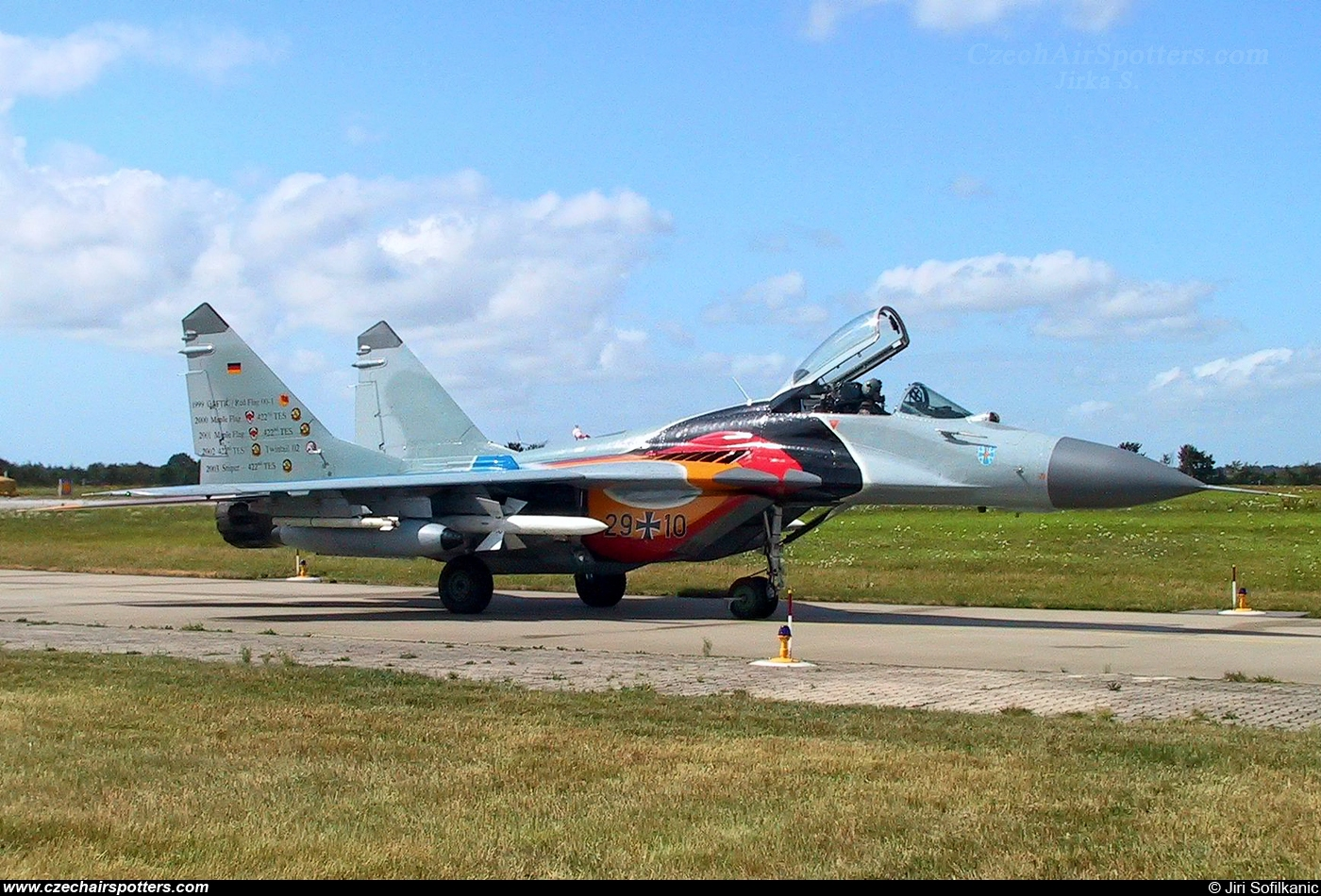 Germany - Air Force – Mikoyan-Gurevich MiG-29G / 9-12A 29+10