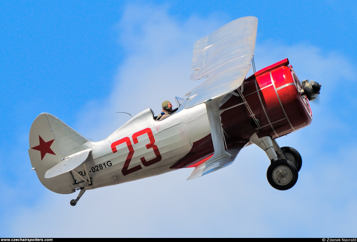 private – Polikarpov I-15bis RA-0281G