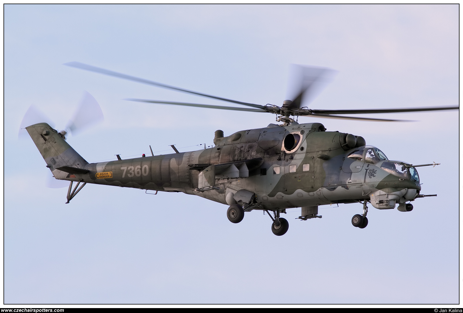 Czech - Air Force – Mil Mi-24V Hind 7360