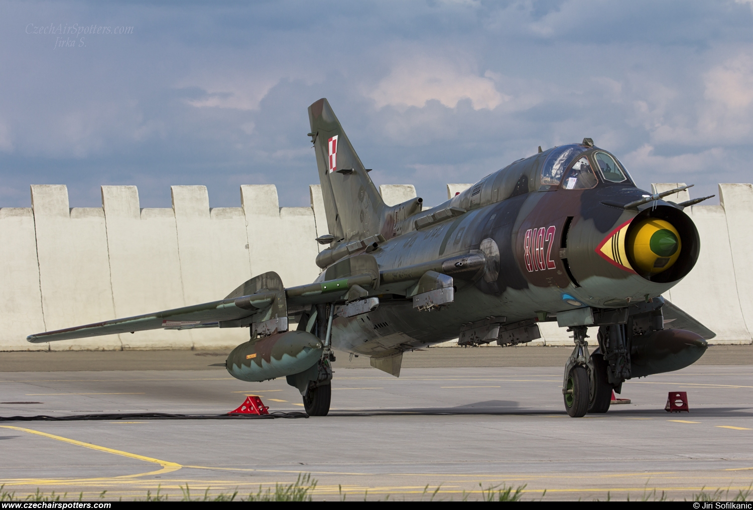 Poland - Air Force – Sukhoi Su-22 M-4 Fitter 8102