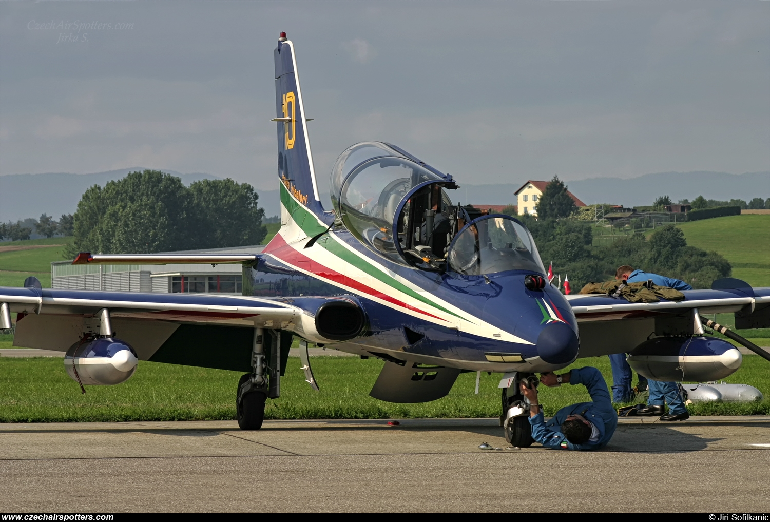 Italy - Air Force – Aermacchi MB-339PAN MM54479 / 10