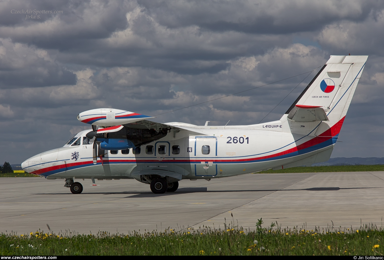 Czech - Air Force – Let L-410UVP-E14 Turbolet 2601