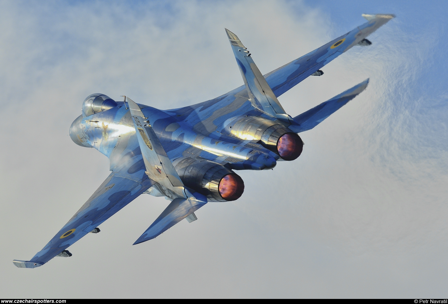 Ukraine - Air Force – Sukhoi Su-27 Flanker B 39