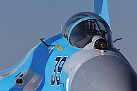 Ukraine - Air Force – Sukhoi Su-27 Flanker B 39 BLUE