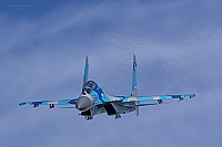 Ukraine - Air Force – Sukhoi Su-27 UB Flanker C 69 BLUE