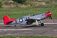 Scandinavian Historic Flight – North American P-51D Mustang N167F / A2-9