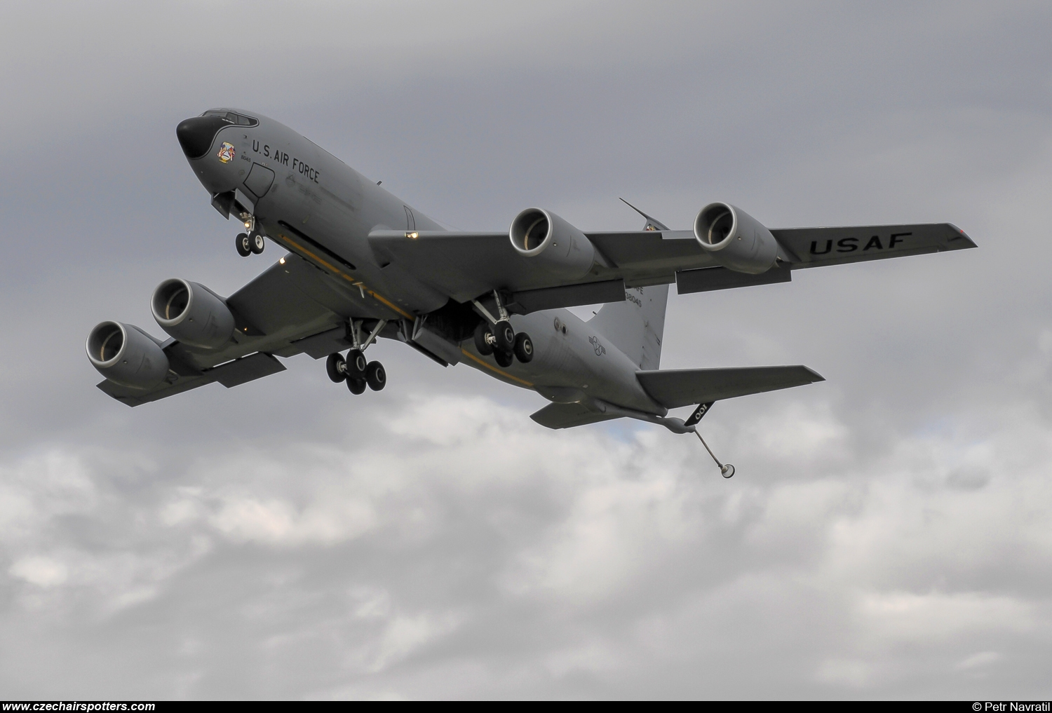 USA - Air Force – Boeing KC-135R Stratotanker 63-8045/D