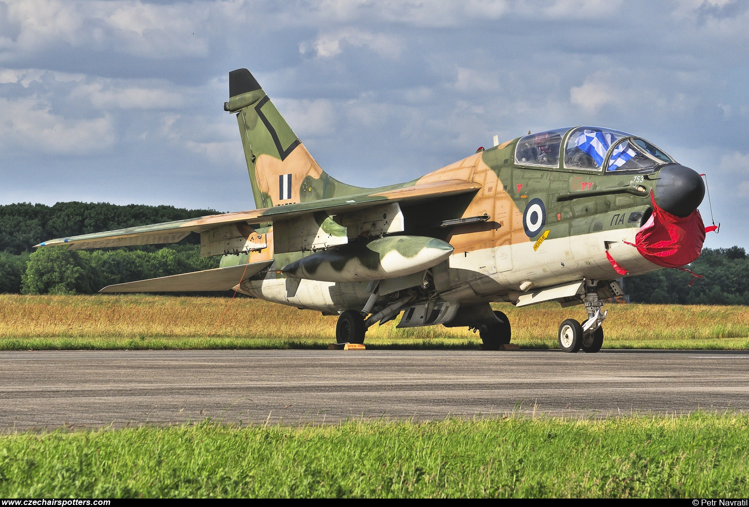 Greece - Air Force – LTV TA-7C Corsair II 156753