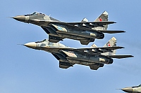 Russia - Air Force – Mikoyan-Gurevich MiG-29A / 9-12A 02 BLUE + 105WHITE