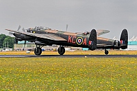 Royal Air Force Battle of Britain Memorial Flight – Avro 683 Lancaster B I KC-A/PA747