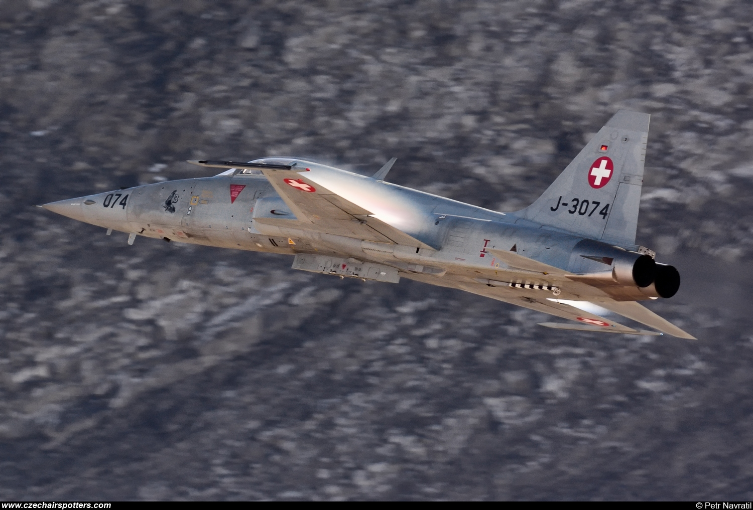 Switzerland - Air Force – Northrop  F-5E Tiger II  J-3074