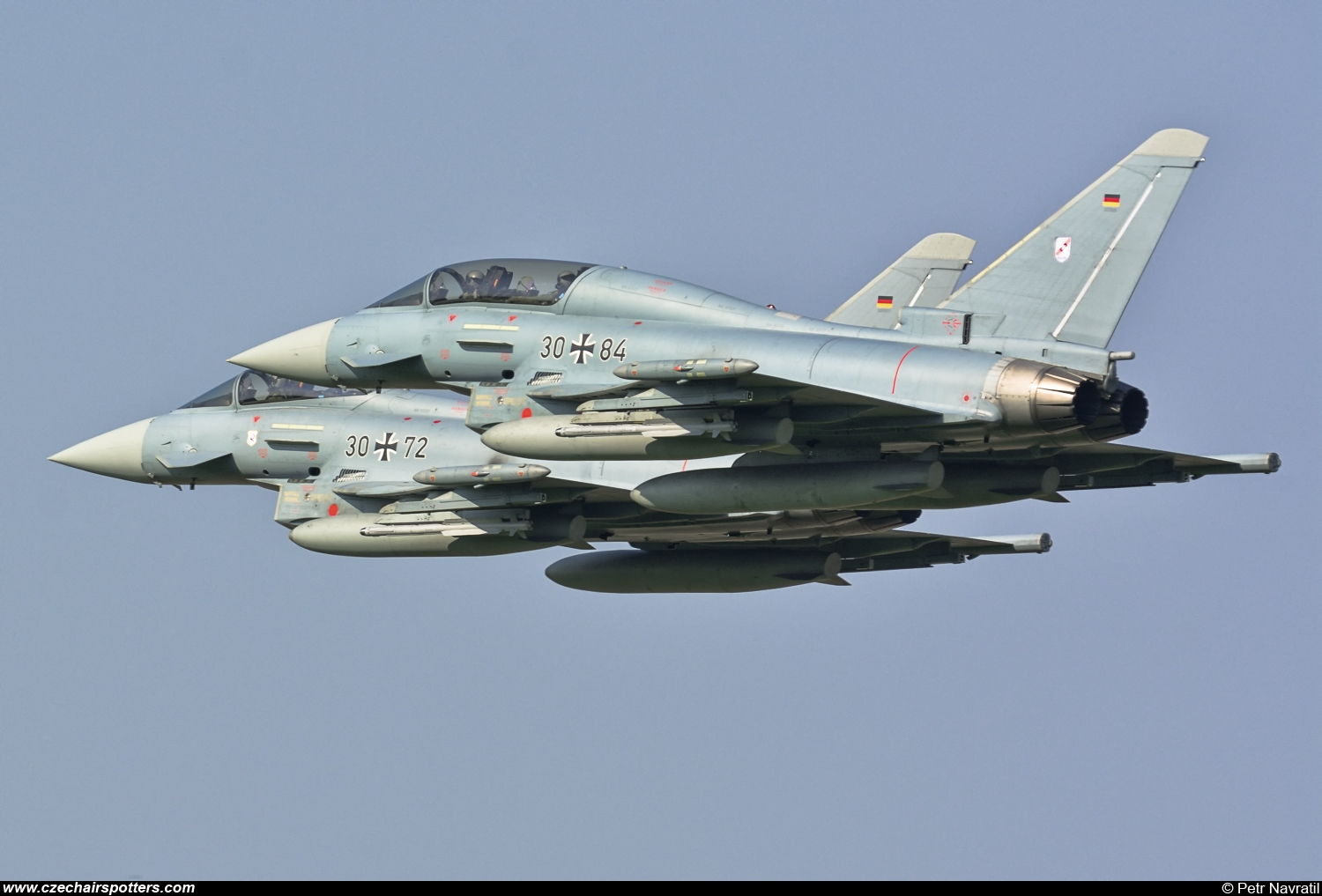 Germany - Air Force – Eurofighter EF-2000 Typhoon T 30+84