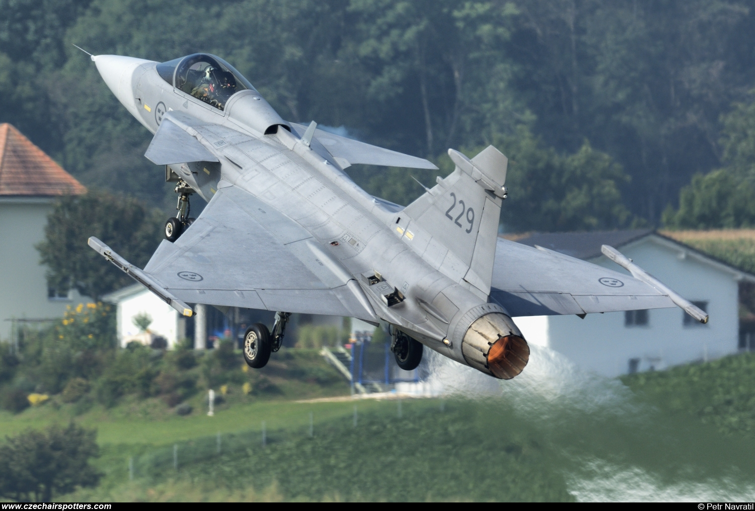 Sweden - Air Force – Saab JAS39C Gripen 229