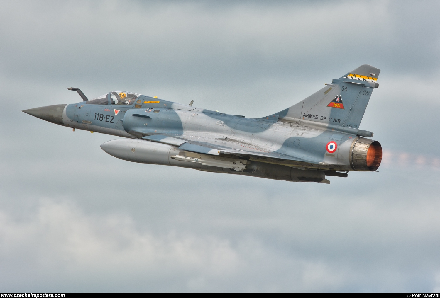 France - Air Force – Dassault Mirage 2000-5F 118-EZ