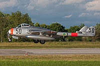 private – De Havilland Vampire FB6 (DH-100) SE-DXS / 50