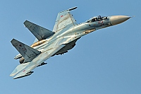 Russia - Air Force – Sukhoi Su-27SM Flanker 54 RED