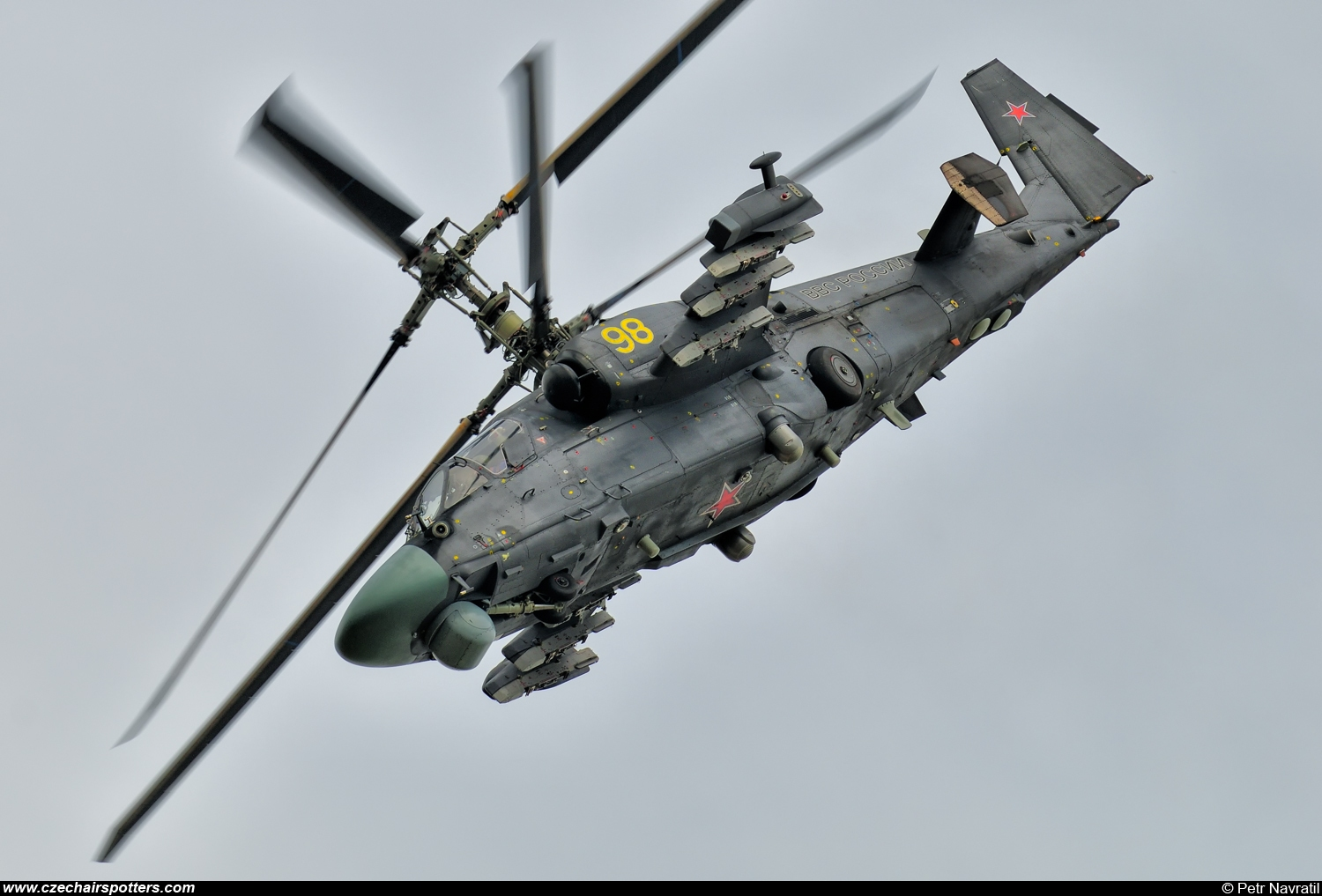 Russia - Air Force – Kamov Ka-52 Alligator (Hokum B) 98