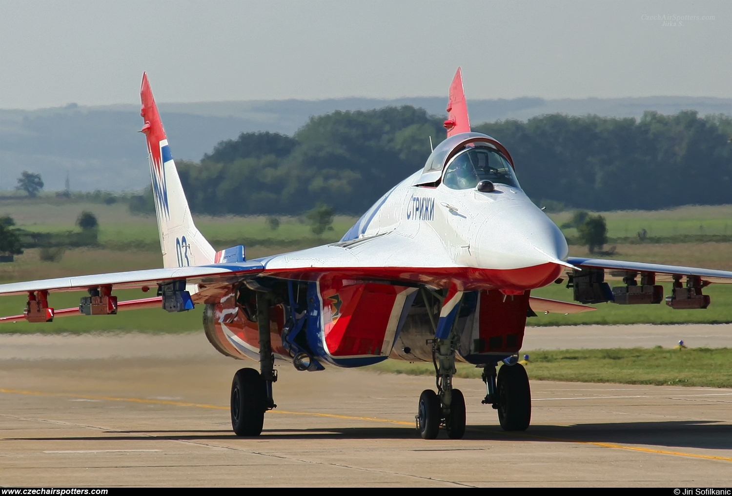 Swifts / Strizhi – Mikoyan-Gurevich MiG-29S / 9-13S 03 BLUE