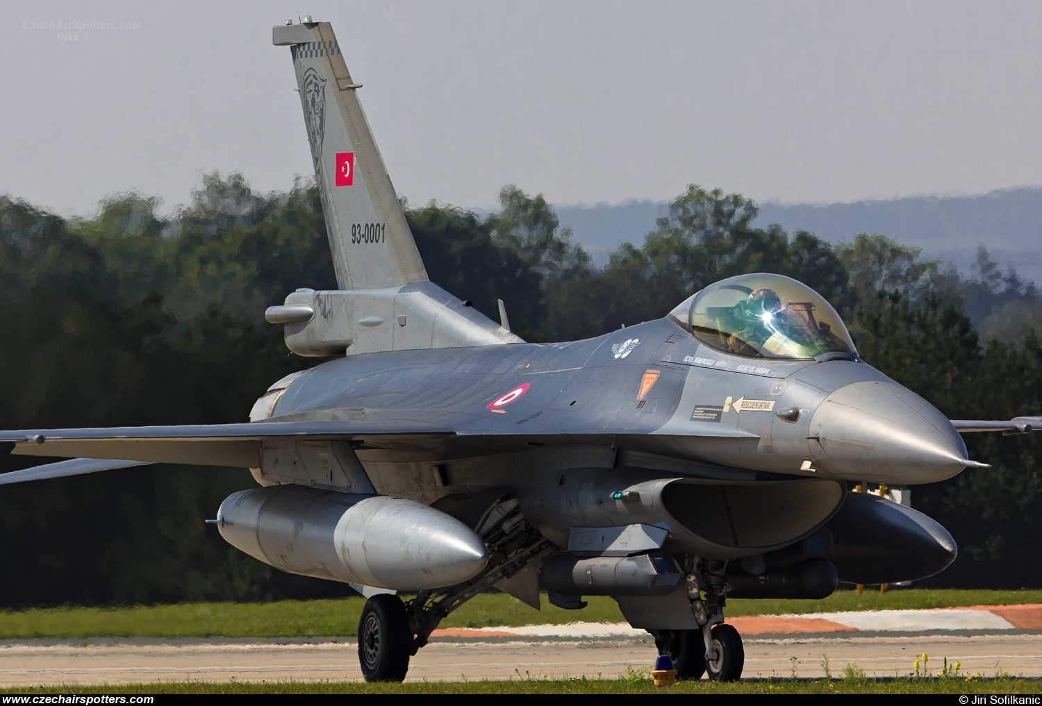 Turkey - Air Force – TUSAS F-16CG Night Falcon 93-0001