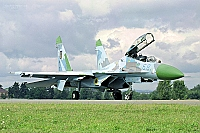 Ukraine - Air Force – Sukhoi Su-27 UB Flanker C 68 BLUE