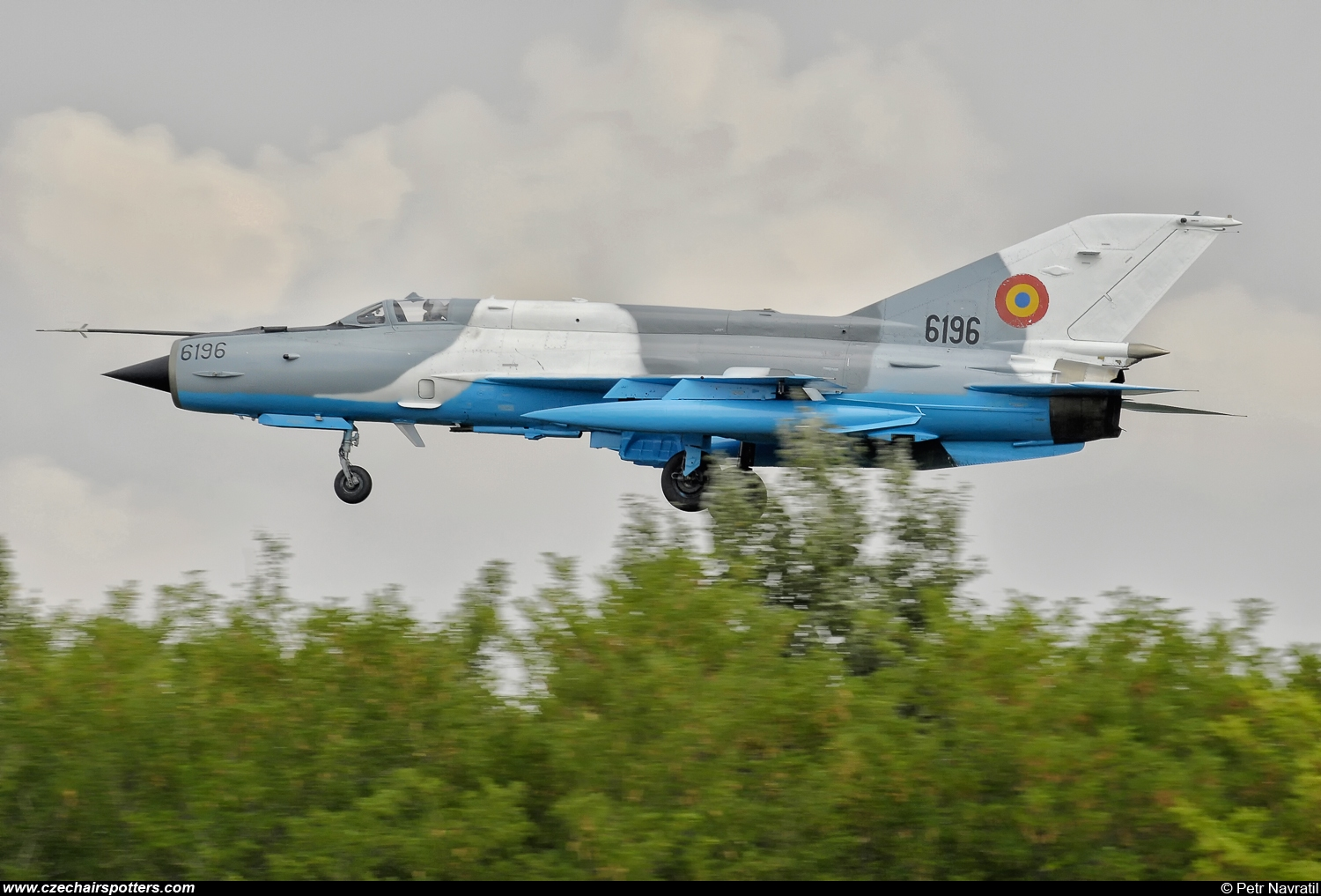 Romania - Air Force  – Mikoyan-Gurevich MiG-21MF Lancer C 6196
