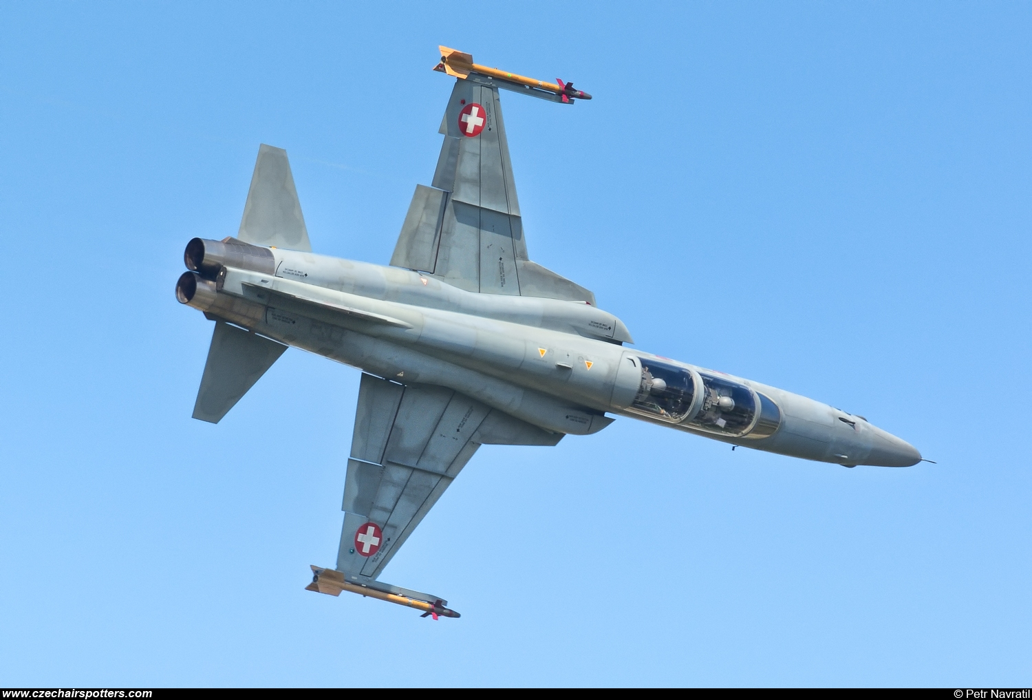Switzerland - Air Force – Northrop  F-5F Tiger II  J-3201