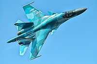 Russia - Air Force – Sukhoi Su-34 Fullback RF-95803